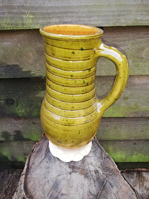 Tankard Replica 14-15 th century Sussex.  Approx 2 pints