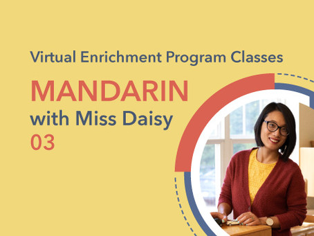 Mandarin with Miss Daisy | 03