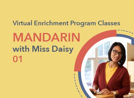 Mandarin with Miss Daisy | 01