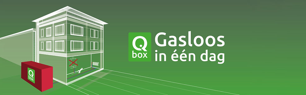 Qbox | Gasloos in één dag