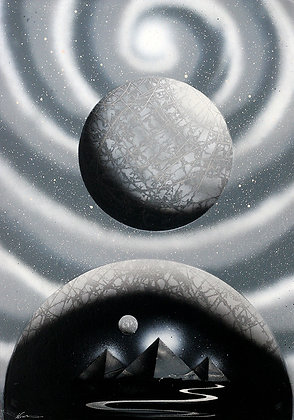 TIME TRAVEL (Black & White)