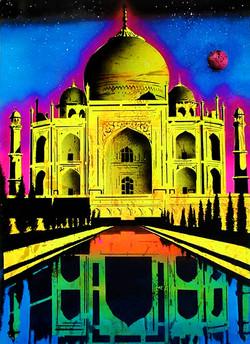 the Taj Maahal , India