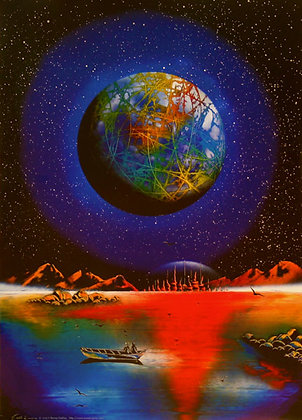 print of PLANET EARTH