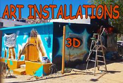 ART Installations 3D