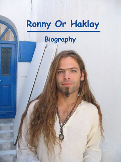 Ronny Or Haklay - The Masterspray : Biography