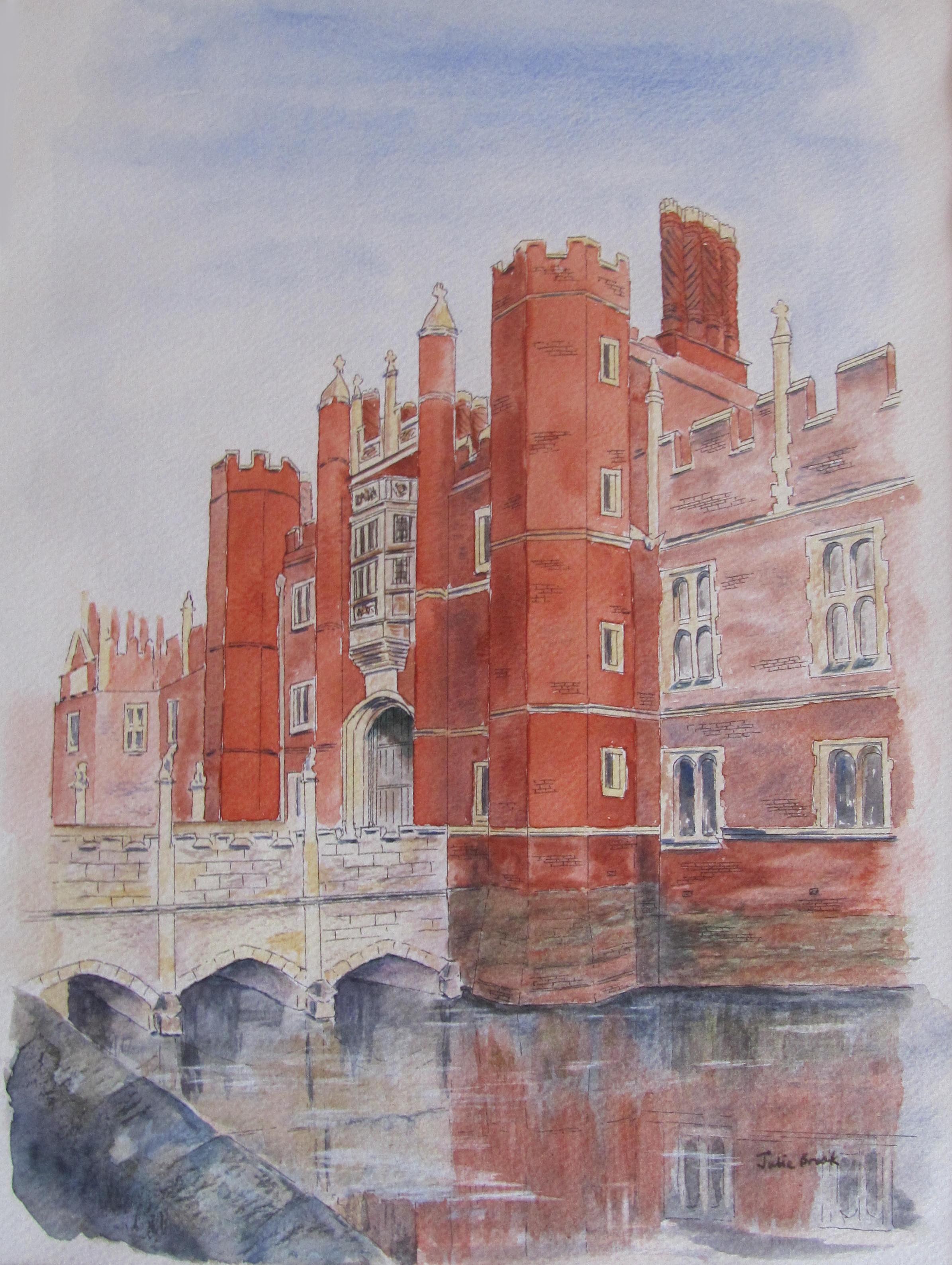 Julie Brook_ Hampton Court Palace