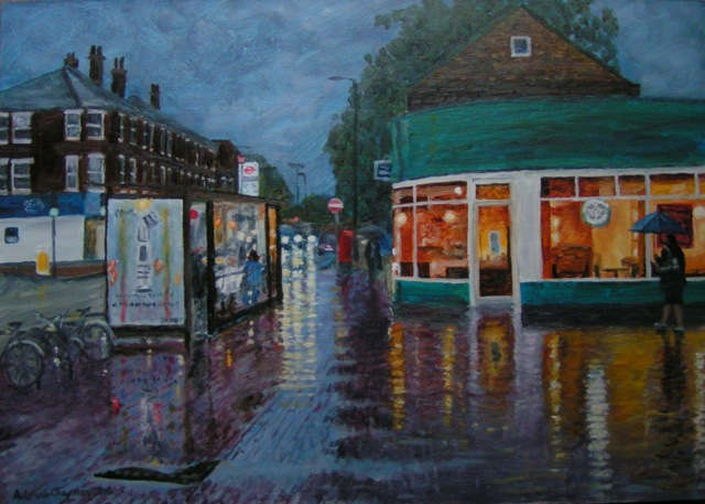 Adrian Chapman: Reflections In The Rain