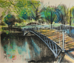 White Bridge, Morden Hall Park