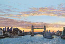 Mark Lodge_ Sun Rise Tower Bridge