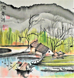 May Chee- On the river