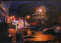 Adrian Chapman: Wet night