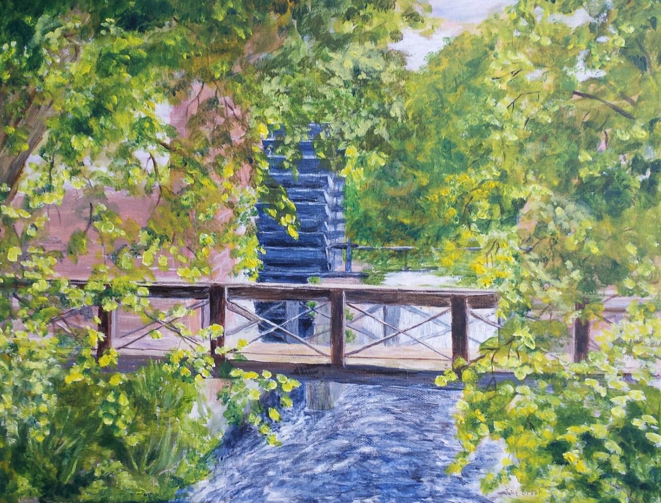 Waterwheel, Morden Hall Park