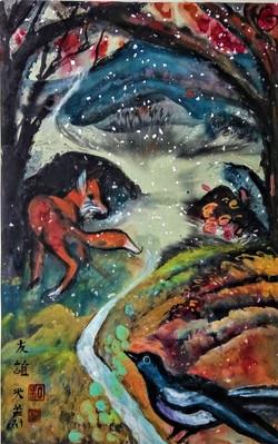 Fox & Magpie