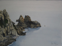 Dog and Lion Rocks Guernsey