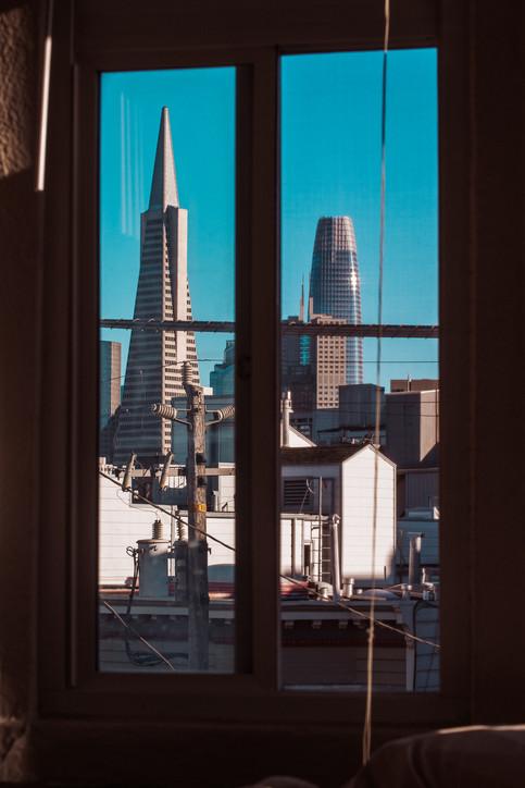 My bedroom view