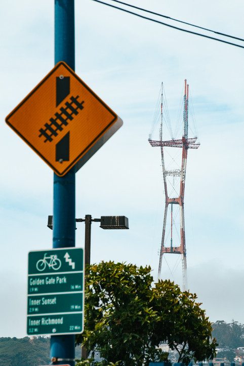 Sutro Tower from Noe Valley
