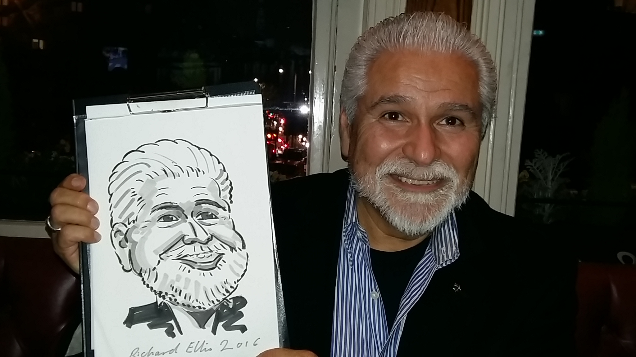 caricaturist for events