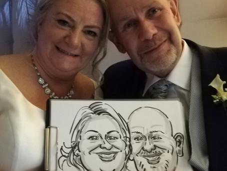 Andy and Lisa's wedding