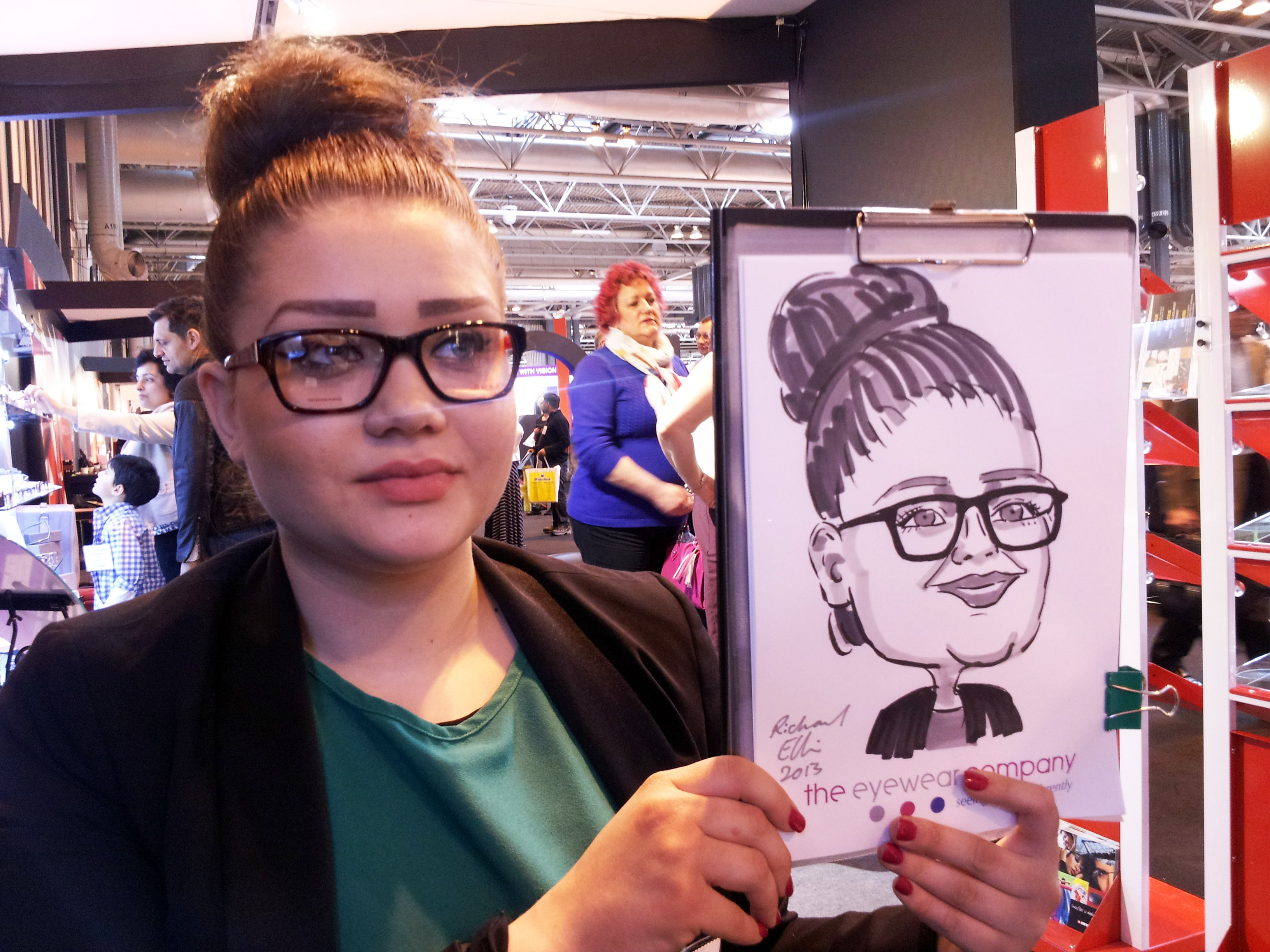 caricaturist entertainment wedding