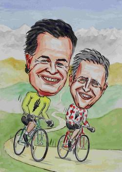Sports caricature