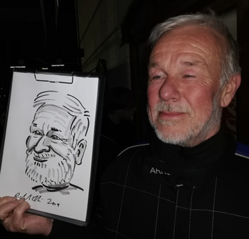 Party season caricatures