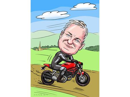 Digital Caricature Commission