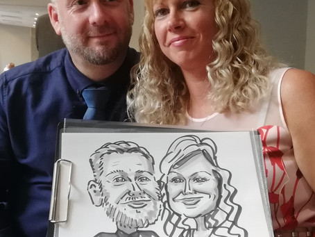 Wedding #caricature entertainment is back!
