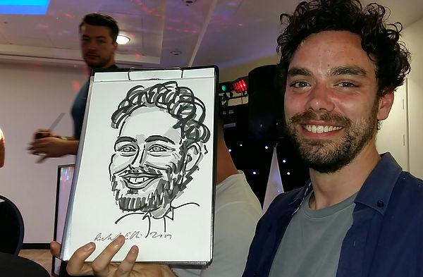 caricaturist caricature artist Bristol south west England