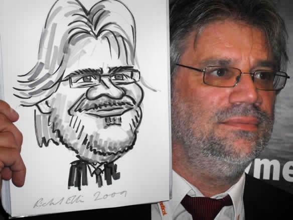 caricaturist corporate entertainment