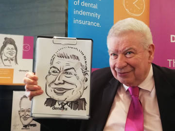 Caricatures for Corporate Entertainment