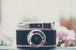 Old School Analog-Kamera