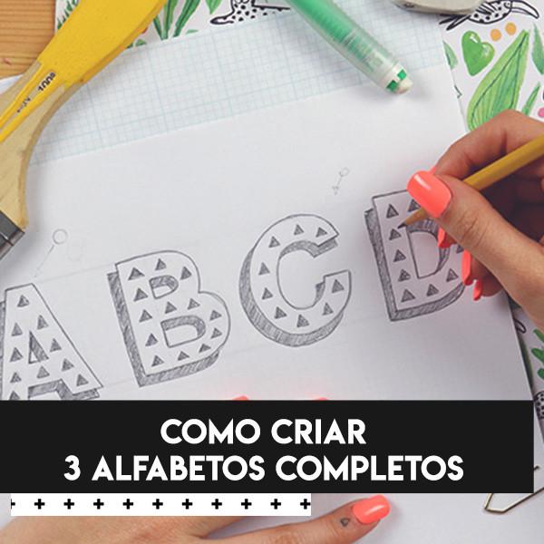 curso de 3 alfabetos