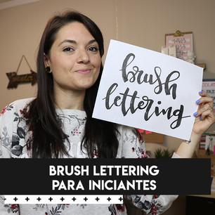 curso brush lettering