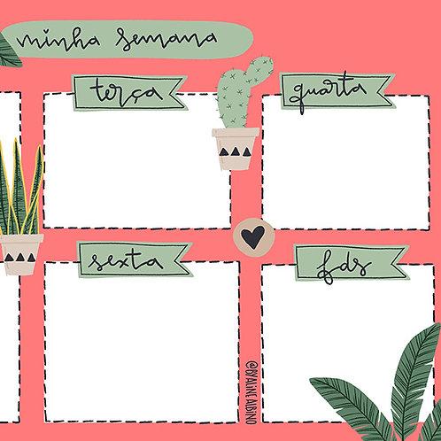 Weekly Spread - Plantas