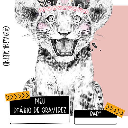 DIÁRIO DE GRAVIDEZ - ROSA