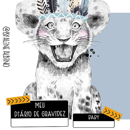 DIÁRIO DE GRAVIDEZ - AZUL