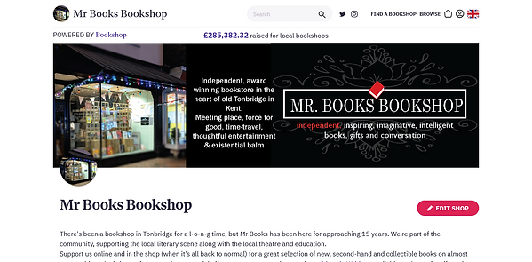 Mr Books Bookshop Bookshop UK - uk.books