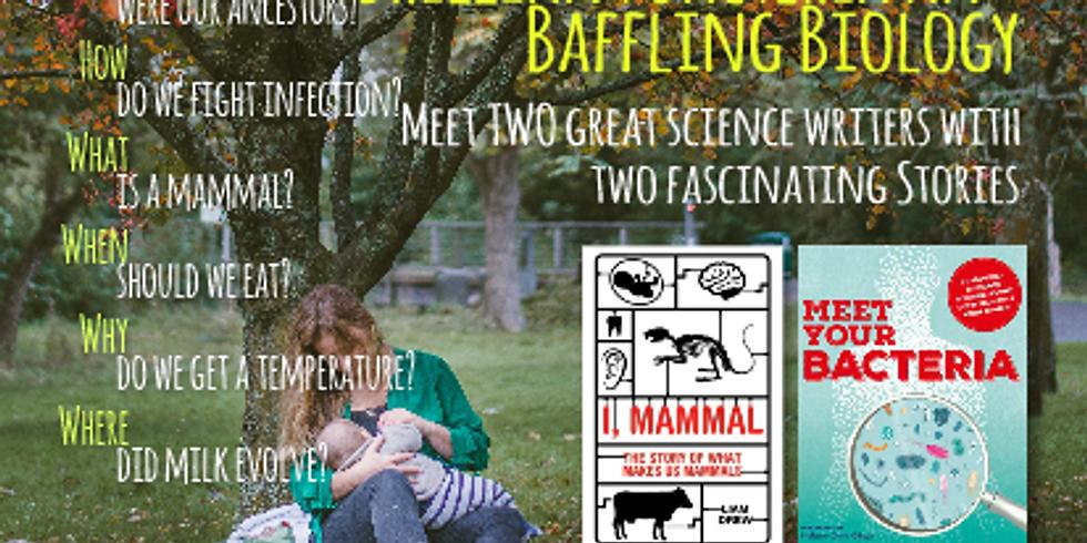 Brilliant bacteria and baffling biology!