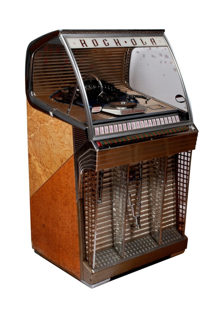 Rock-Ola Jukebox sold $2625 at Selkirk (St Louis) September 2019
