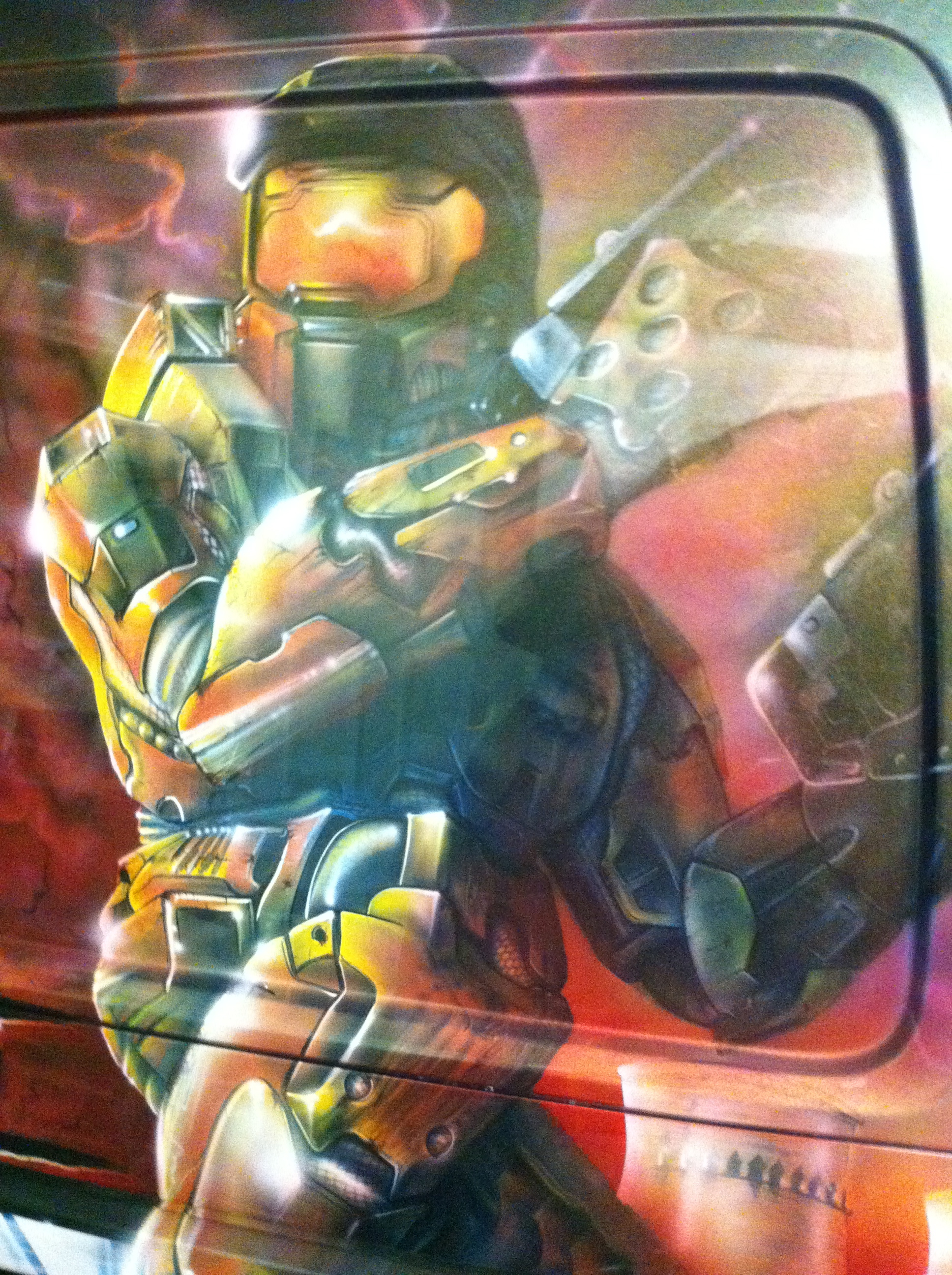 Halo Scott Airbrushwork