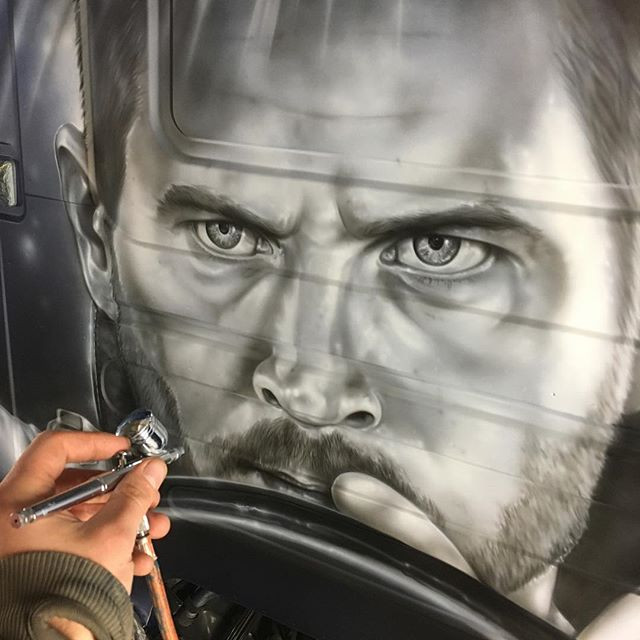 Work in progress. 🚗  #paulwalker #fasta
