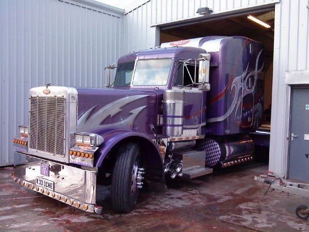 kenworth custom airbrush