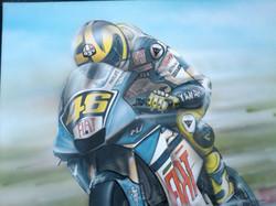 Valentino Rossi Scott Airbrushwork