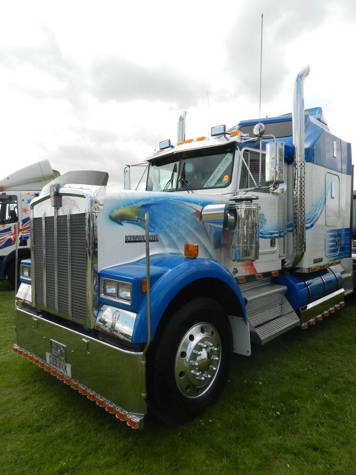 American truck Scott Airbrushwork