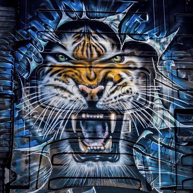 Richardsons Scott Airbrushwork