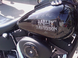 Harley Davidson Scott Airbrushwork