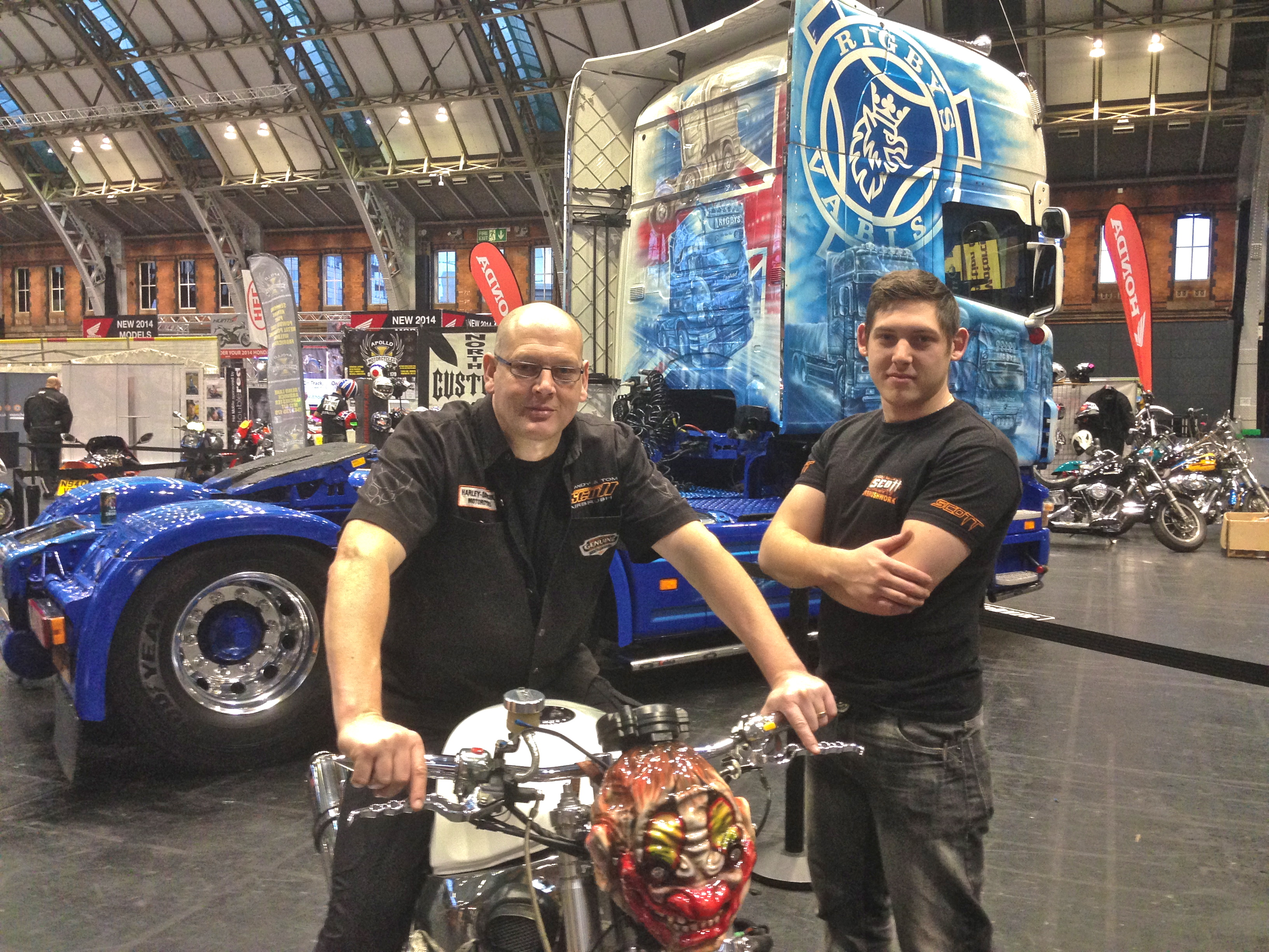 Andy and Tom Scott Airbrushwork
