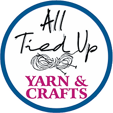 All Tied Up Yarn and Crafts logo.png
