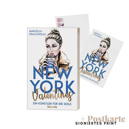 """Signierte Printausgabe """"NYV: Ein Künstler für die Seele"""" mit Postkarte"""