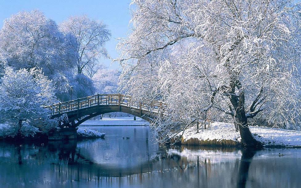 Winter Landscapes - Country Bridge.jpg